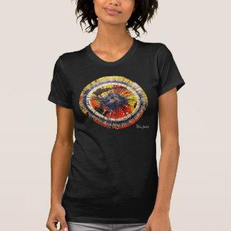T-shirt d'art de rotation de rue