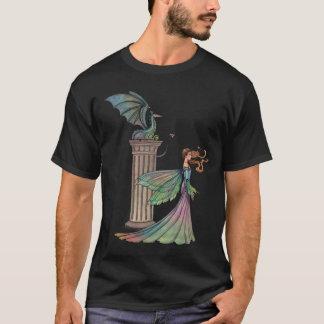 T-shirt d'art d'imaginaire de fée et de dragon
