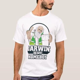 T-shirt Darwin est ma chemise d'athée de Homeboy