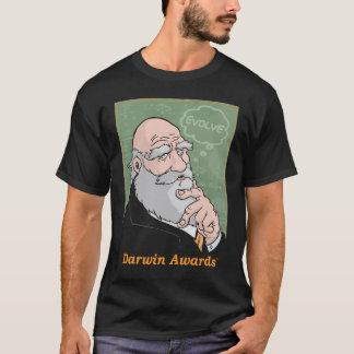 T-shirt Darwin : Évoluez la pièce en t - noir