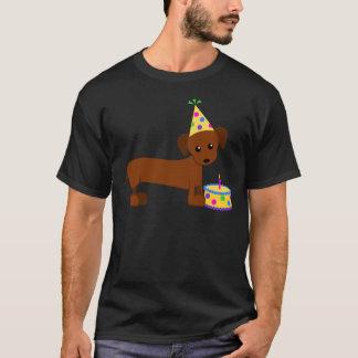 T-shirt DaschundBDay