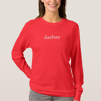 T-shirt dasher