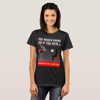 T-shirt d'assistant administratif
