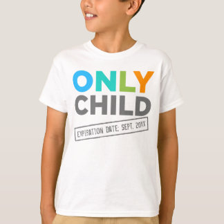 T-shirt Date d'échéance d'enfant unique [votre date]