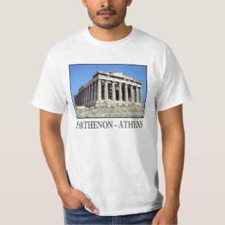 T-shirt d'Athènes de parthenon