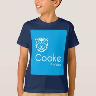 T-shirt d'athlétisme de Cooke d'ENFANTS, marine