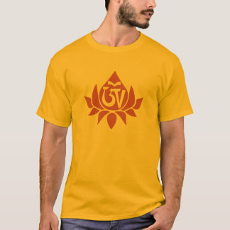 T-shirt d'Aum Lotus de Tibétain