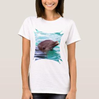 T-shirt Dauphin bavard