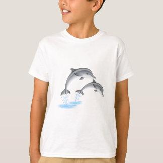 T-shirt Dauphins sautants