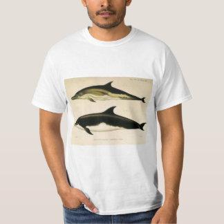 T-shirt Dauphins vintages, animaux marins et mammifères
