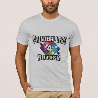 T-shirt d'autisme de Paintballers 4