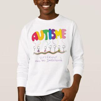 T-shirt D'autisme traitant de Chandail