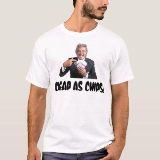 """T-shirt David Dickinson """"bon marché comme puces """""""