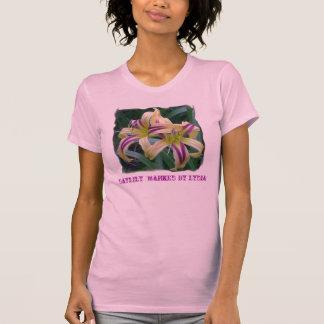 T-shirt Daylily 'marqué par Lydia