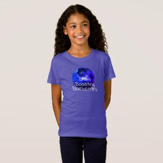 T-shirt de amplification de myrtilles de cerveau