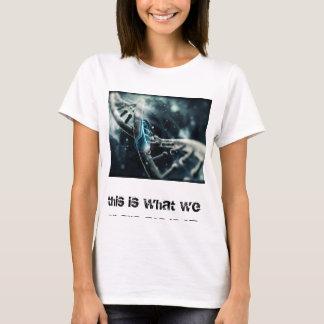 T-shirt de attirance d'ADN