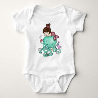 T-shirt de babysitter de poulpe