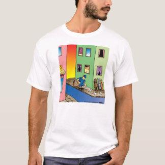 T-shirt de bande dessinée de facteur d'embuscade