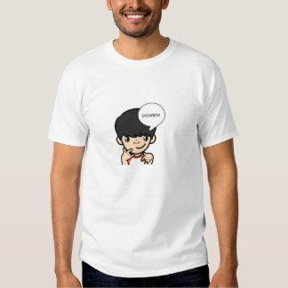 T-shirt de bande dessinée de Gigaben