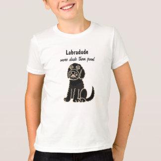 T-shirt de bande dessinée de Labradoodle de BA