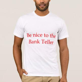 T-shirt de banquier ou de guichetier