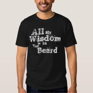 T-shirt de barbe de sagesse
