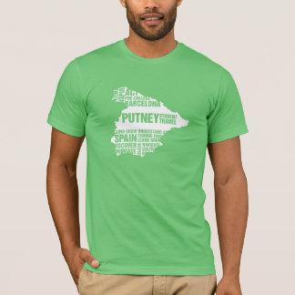 T-shirt de Barcelone de Pré-Université dans des