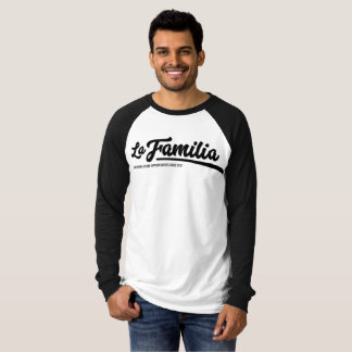T-shirt de base-ball de Familia de La
