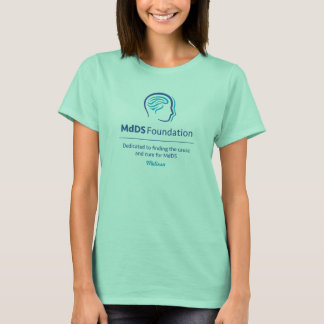 T-shirt de base de conscience de MdDS des femmes
