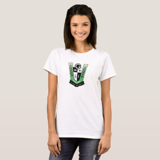T-shirt de base de dames de GGMSS