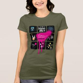 T-shirt de base de dames de projet de formule