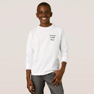 T-shirt de base de la douille des enfants long