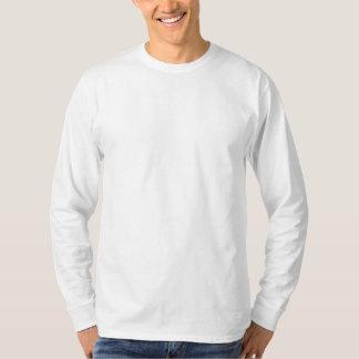 T-shirt de base de la douille des hommes long