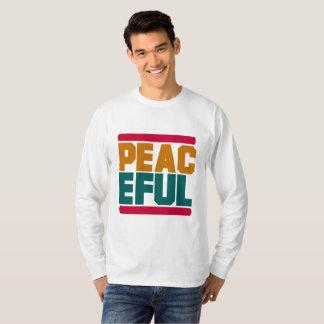 T-shirt de base de la douille des hommes paisibles