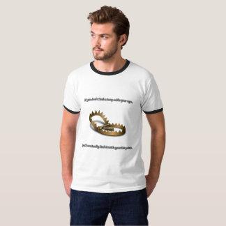 T-shirt de base de la sonnerie des hommes de piège