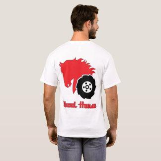 T-shirt de base de l'art des hommes de tracteur de