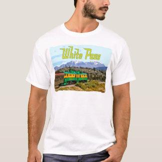 T-shirt de base de passage blanc