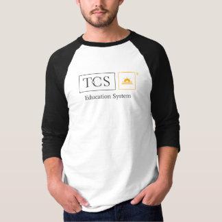 T-shirt de base de raglan de la douille des hommes