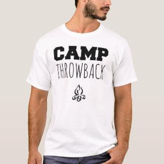 T-shirt de base de régression de camp