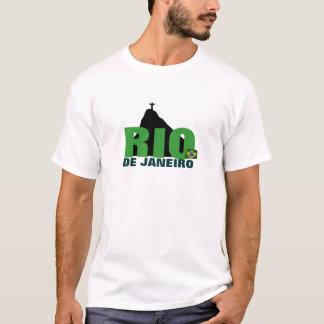 T-shirt de base de Rio de Janeiro