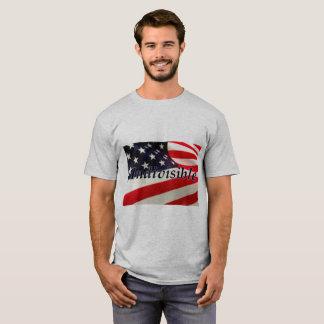 T-shirt de base indivisible de drapeau des USA des