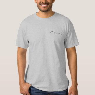 T-shirt de base : L'identité d'Euler petite. pavé