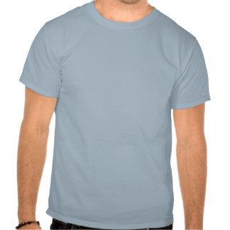 T-shirt de base, vue sous-marine de bleu de ciel