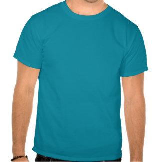 T-shirt de base vue sous-marine de bleu de ciel