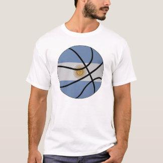 T-shirt de basket-ball de l'Argentine
