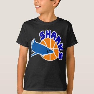 T-shirt de basket-ball de requins