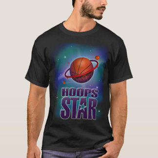 T-shirt de basket-ball d'étoile de cercles