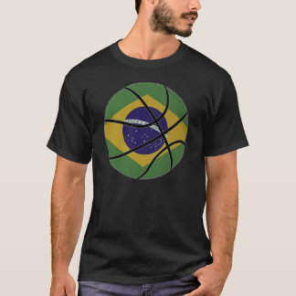 T-shirt de basket-ball du Brésil