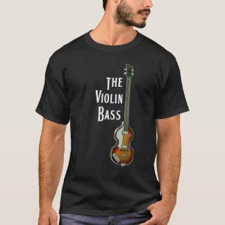 T-shirt de basse de violon