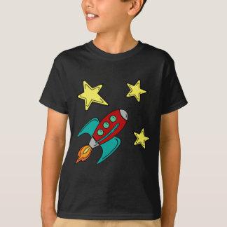 T-shirt de bateau de rétrofusée